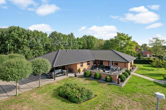 Villa på Serupvej i Silkeborg - Mastefoto