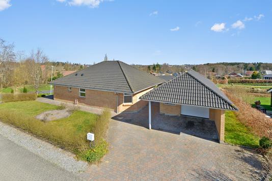 Villa på Amerikavej i Gjern - Mastefoto