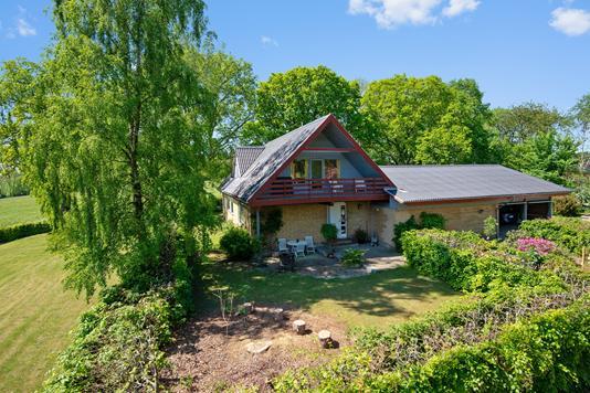 Villa på Himmelbjergvej i Silkeborg - Mastefoto