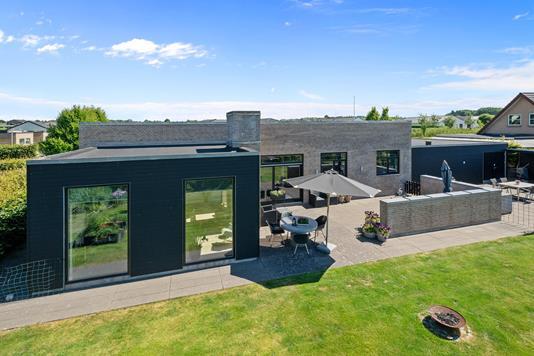 Villa på Buskelundengen i Silkeborg - Mastefoto