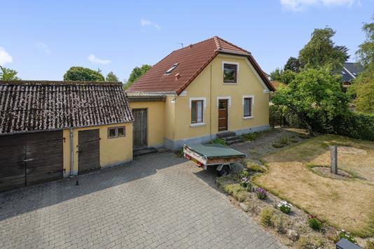 Villa på Frederiksberggade i Gjern - Mastefoto