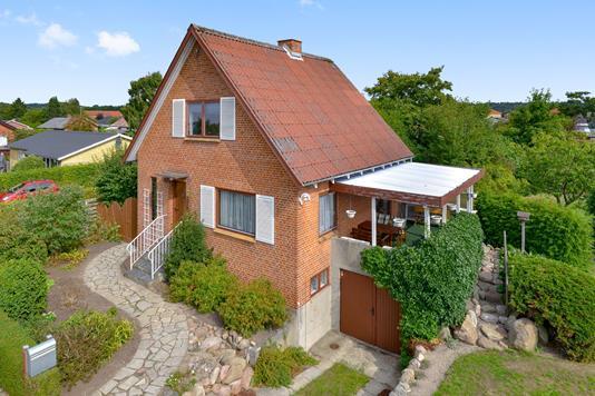Villa på Bøge Allé i Silkeborg - Mastefoto