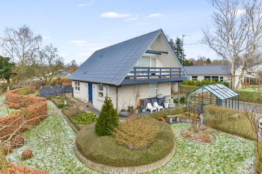Villa på Dalvejen i Silkeborg - Mastefoto