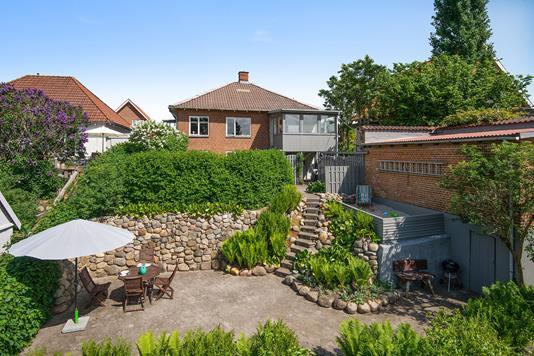 Villa på Elme Allé i Silkeborg - Mastefoto