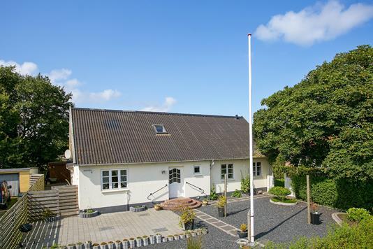 Villa på Hjemstedvej i Skærbæk - Ejendommen
