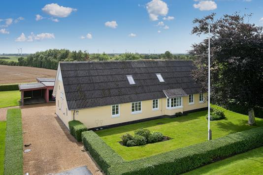 Villa på Algade i Skærbæk - Ejendommen