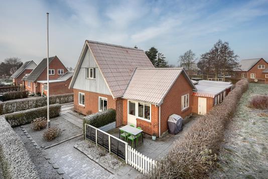 Villa på Gesingvej i Skærbæk - Ejendommen