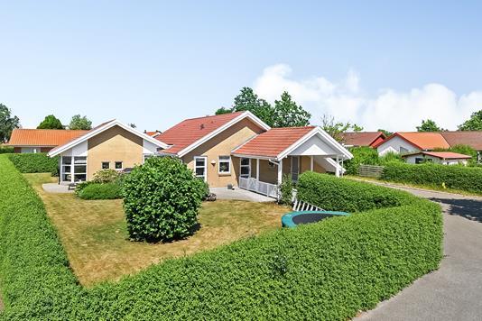 Villa på Markskellet i Billund - Ejendommen