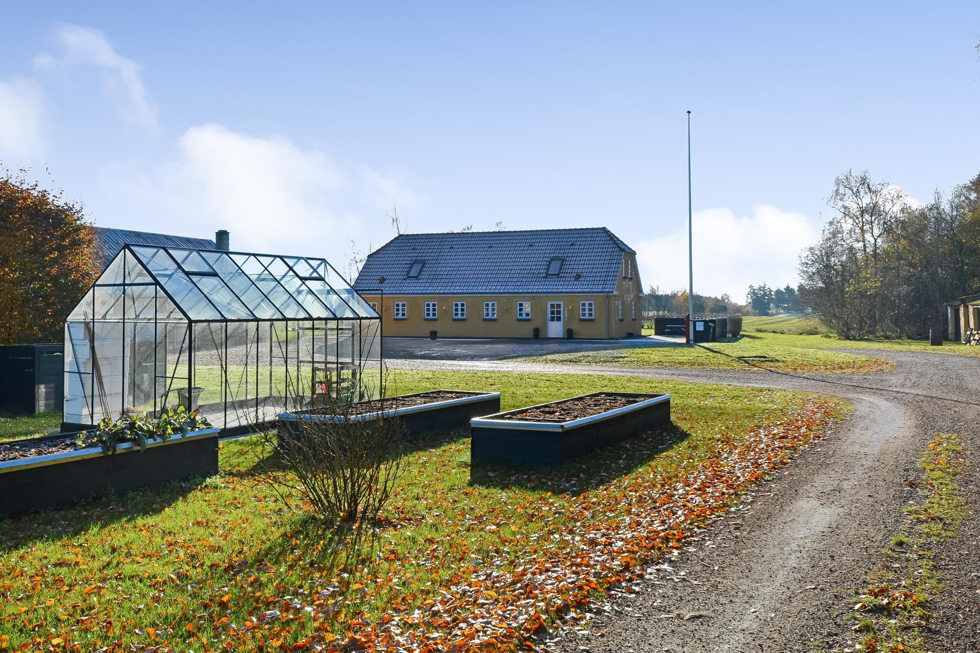 Landejendom på Grenevej i Billund - Ejendommen