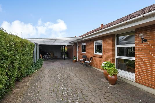 Villa på Sønderkær i Billund - Ejendommen
