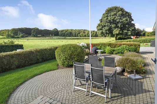 Villa på Åstvej i Gadbjerg - Terrasse