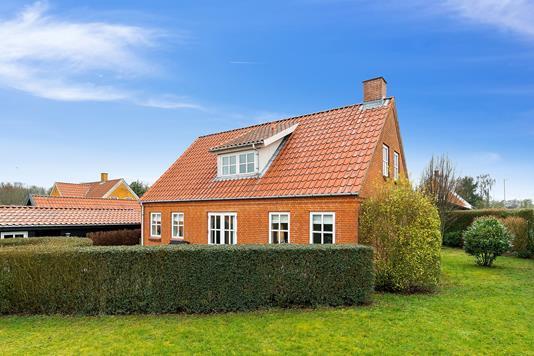 Villa på Kærlundvej i Viby J - Set fra haven