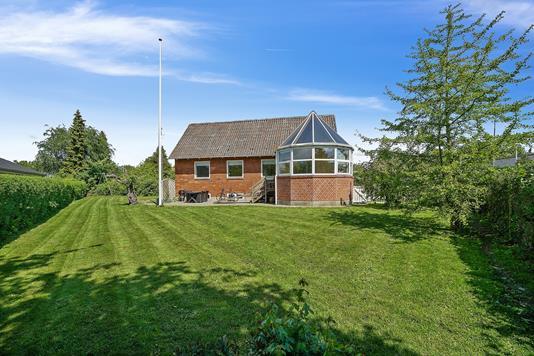 Villa på Øster Allé i Viby J - Set fra haven