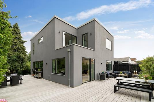 Villa på Hasselvej i Viby J - Terrasse