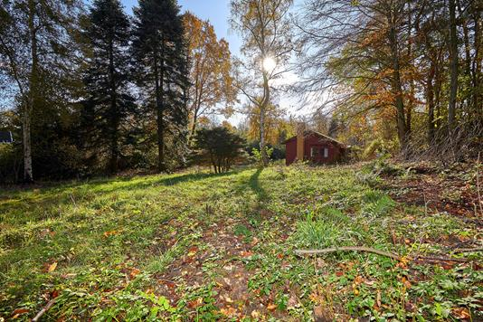 Fritidsbolig på Hesselhøj i Vejby - Grund