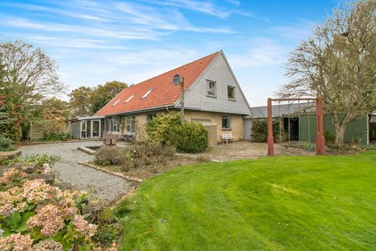 Villa på Melosvej i Hjortshøj - Ejendommen