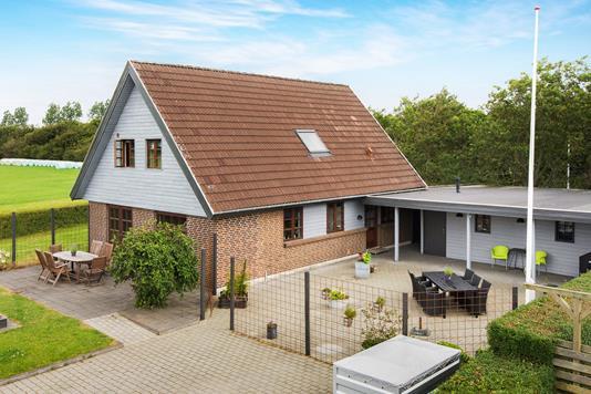 Villa på Kjærmarken i Gredstedbro - Ejendommen
