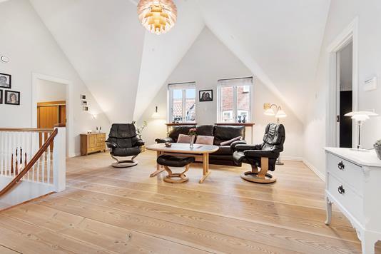 Villa på Vægtergade i Ribe - Stue