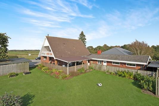 Villa på Bjerrumvej i Ribe - Ejendommen