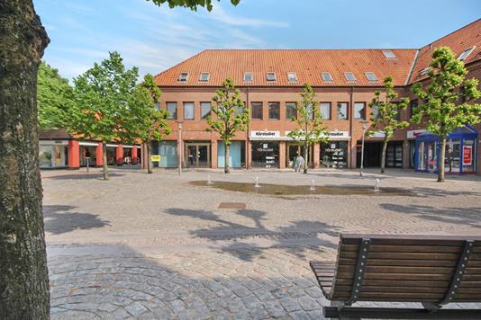 Ejerlejlighed på J. Lauritzens Plads i Ribe - Ejendommen