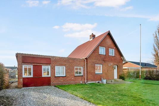 Villa på Vestergade i Gredstedbro - Ejendommen