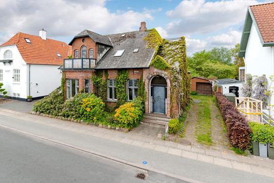 Villa på Kurveholmen i Ribe - Ejendommen