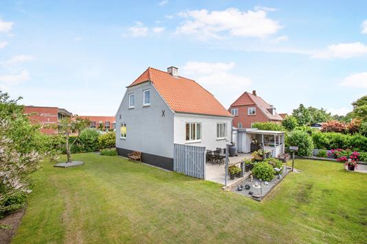 Villa på Tvedgade i Ribe - Ejendommen