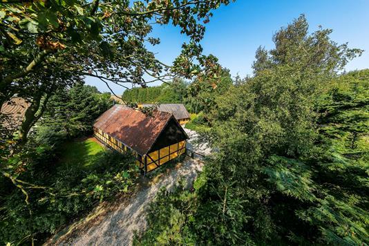 Villa på Vesteregnsvej i Humble - Mastefoto