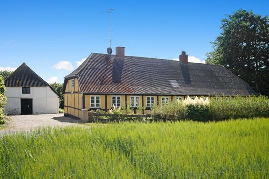 Villa på Skovsbovej i Rudkøbing - Ejendommen