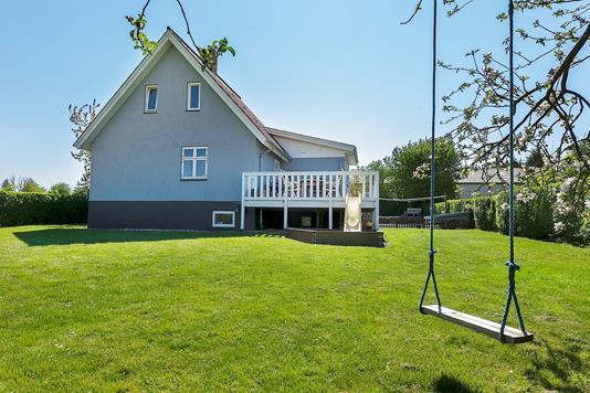 Villa på Statenevej i Rudkøbing - Set fra haven