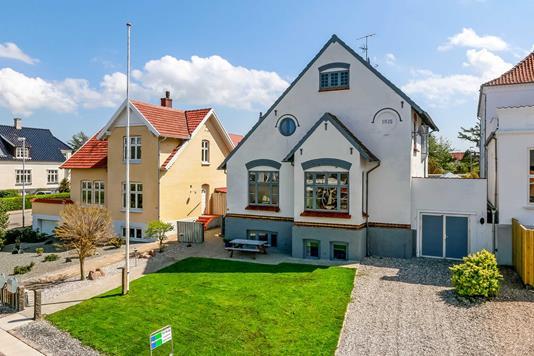 Villa på Havnegade i Rudkøbing - Ejendommen
