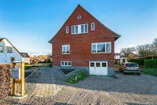 Villa på Langegade i Rudkøbing - Facade