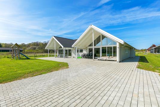 Villa på Kronens Have i Tranekær - Udendørs