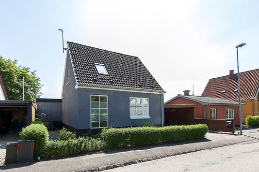 Villa på Spangevej i Rudkøbing - Ejendommen
