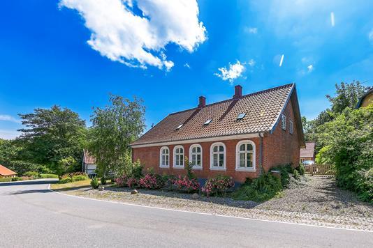 Villa på Slotsgade i Tranekær - Ejendommen
