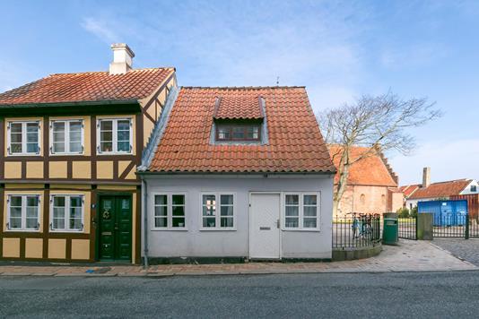 Villa på Brogade i Rudkøbing - Ejendommen