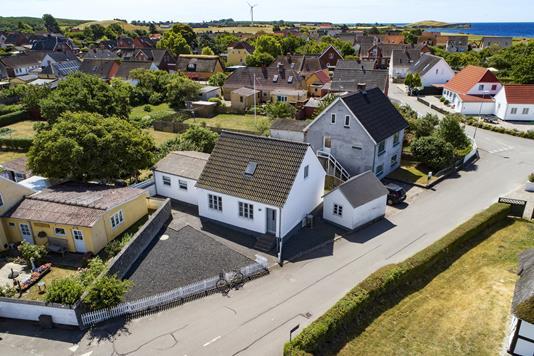 Villa på Havnegade i Bagenkop - Luftfoto