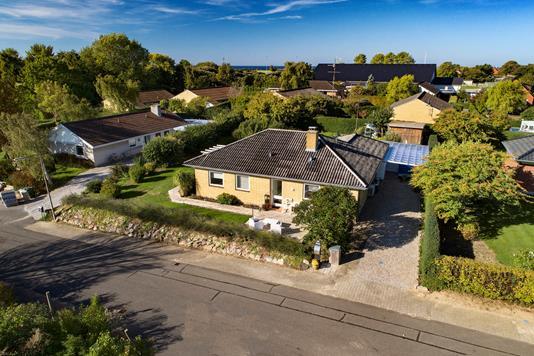 Villa på Ørredvej i Bagenkop - Luftfoto