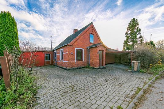 Villa på Hallinggade i Humble - Udendørs
