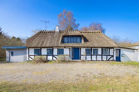Villa på Løkkebyvej i Tranekær - Udendørs