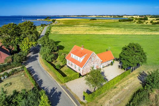 Villa på Ristingevej i Humble - Luftfoto