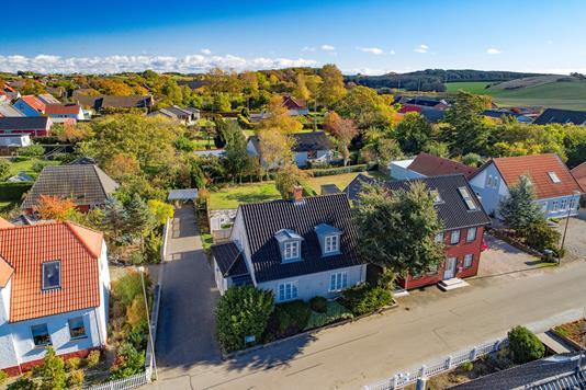 Villa på Bredgade i Bagenkop - Luftfoto