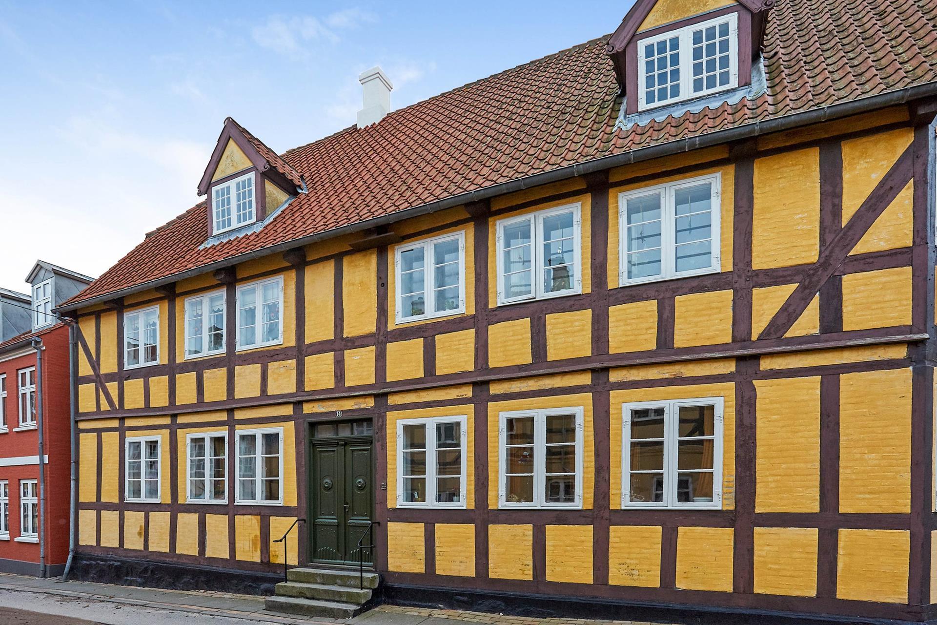 Andelsbolig på Nørregade i Rudkøbing - Mastefoto