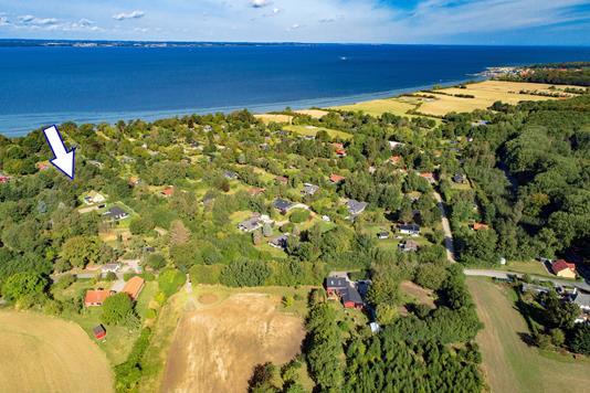 Fritidsgrund på Følfodvej i Tranekær - Luftfoto