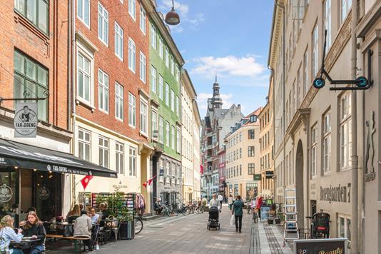 Ejerlejlighed på Rosengården i København K - Omgivelser