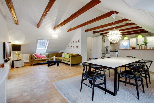 Villa på Torben Oxes Allé i København S - Stue