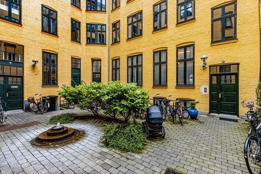 Andelsbolig på Rømersgade i København K - Gårdmiljø