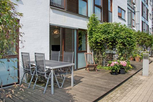 Ejerlejlighed på Wildersgade i København K - Terrasse