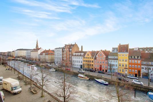 Ejerlejlighed på Overgaden Neden Vandet i København K - Udsigt