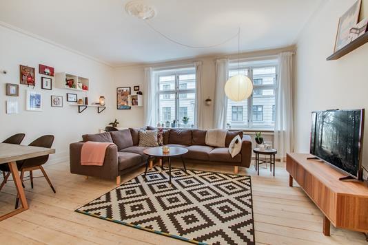 Ejerlejlighed på Herluf Trolles Gade i København K - Stue